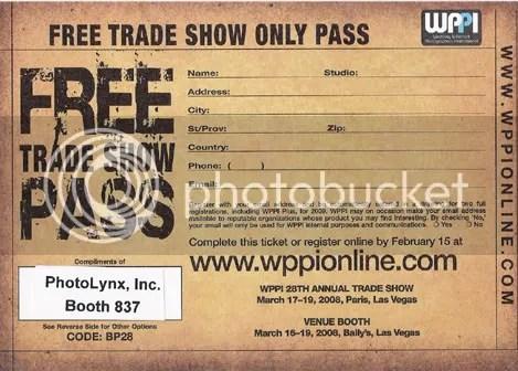 Trade Show Pass