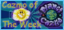 Cazmo of the Week
