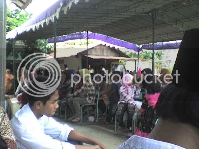 suasana acara halal bi halal