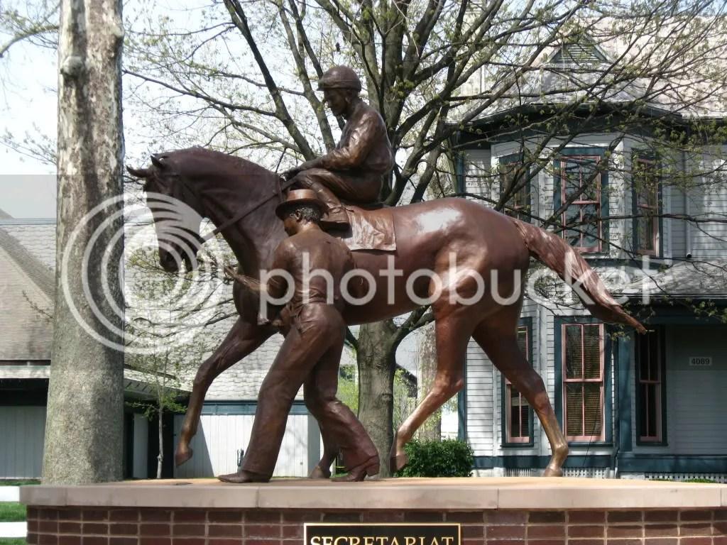 Secretariat Statue Pictures, Images and Photos