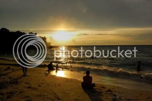 Sunset at Raymen Beach Resort