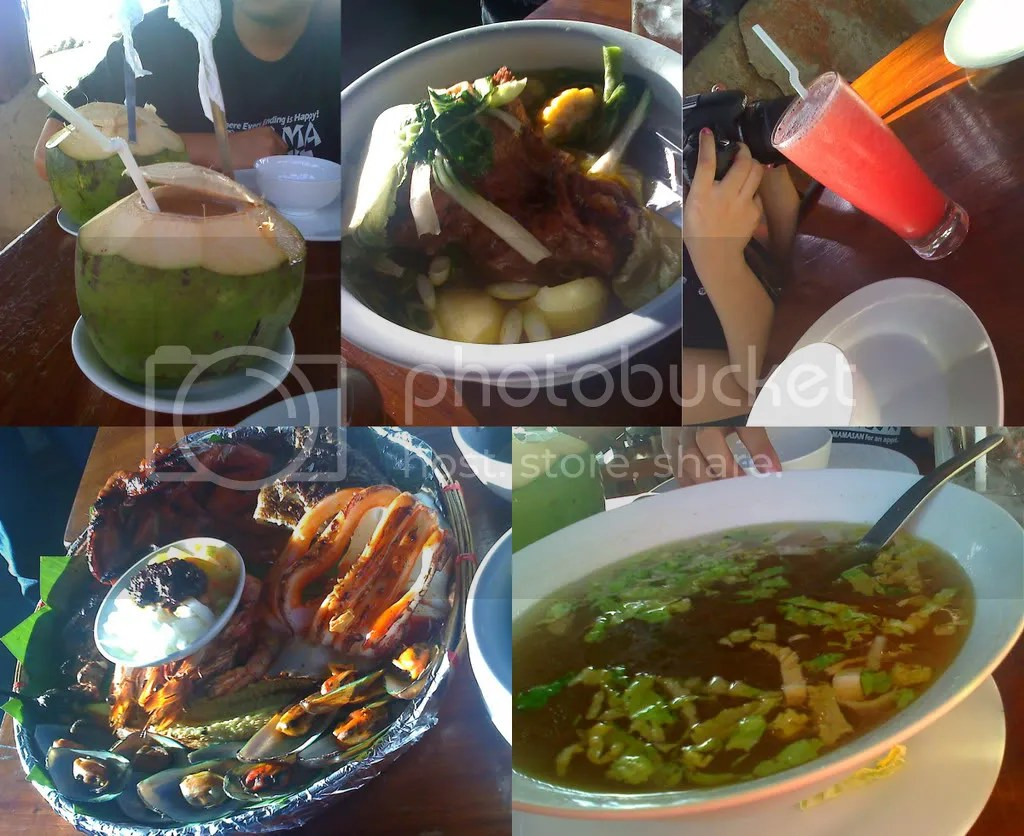 Buko Juice, Bulalo, Watermelon Shake, Inihaw Platter, Bulalo Broth