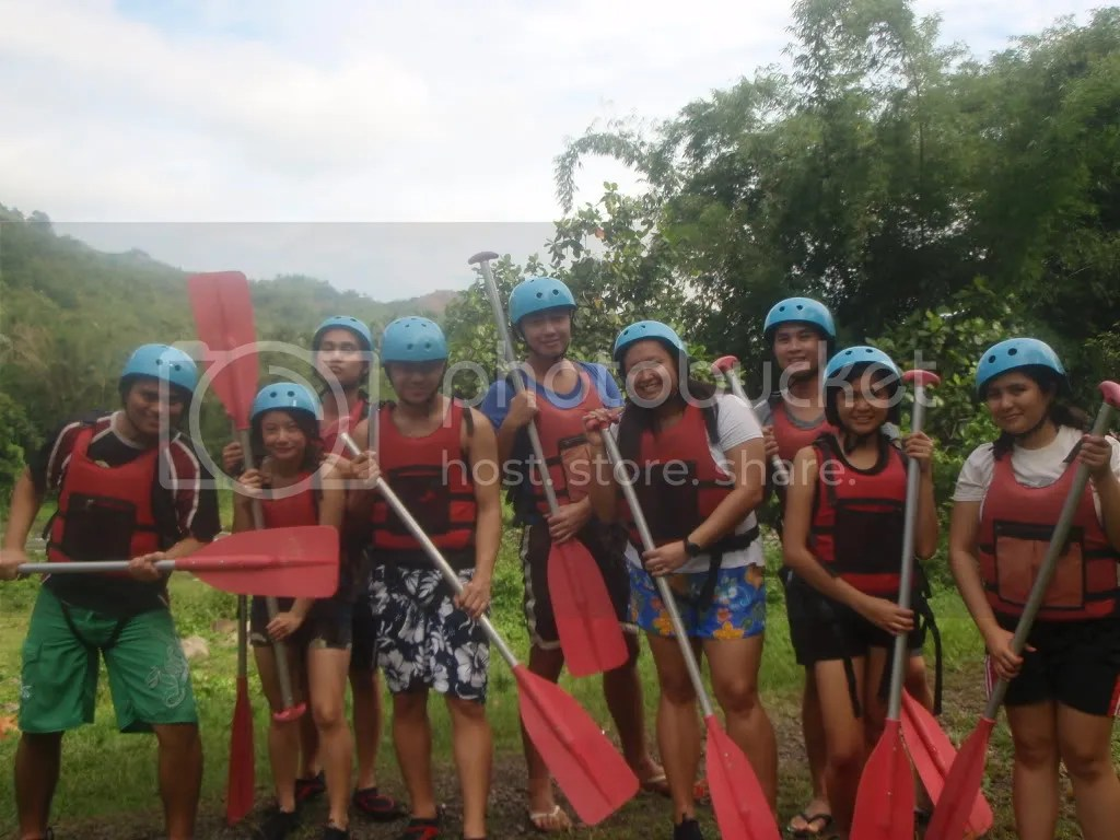 Ready for White Water Rafting