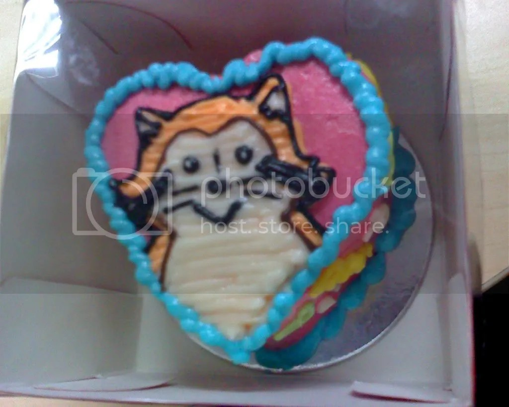 Racoon Cake by Art Cakes
