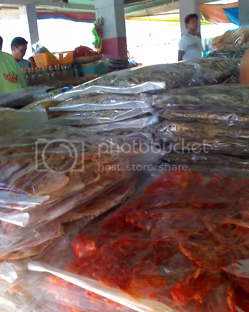 Dried Fish in the Bantayan Public Market