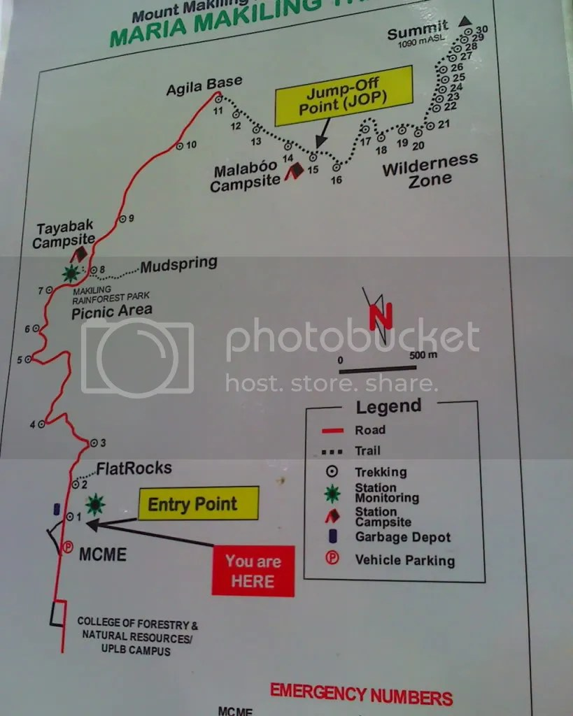 Trail up Mt Makiling