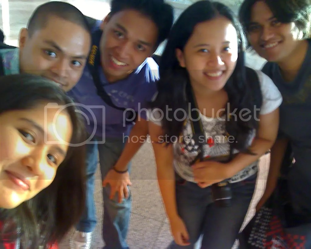 Me, Ruel, Tanja, Gail and Joms in Iloilo