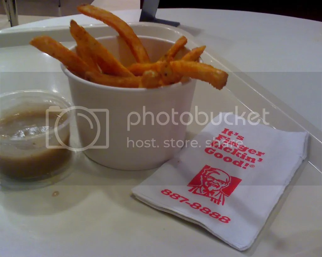 KFC Bucket of Fries