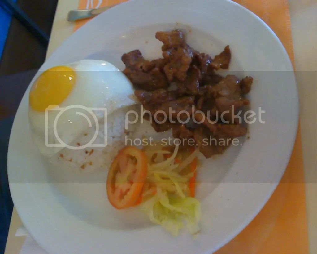 Beef Tapa Meal