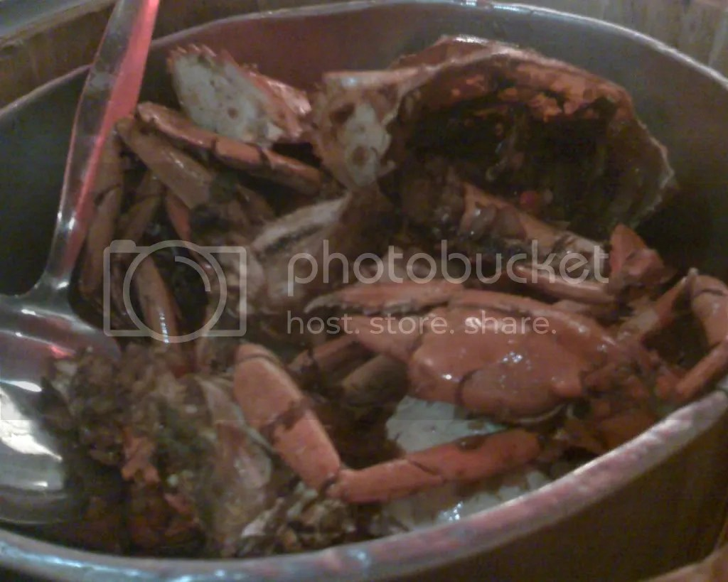 Crab by The Bucket in Singaporean Chili Sauce