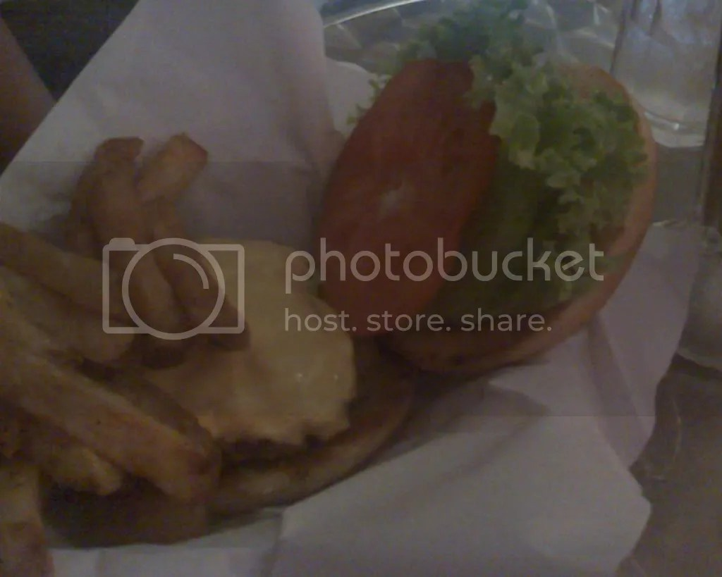 Black Angus Burger with Fries