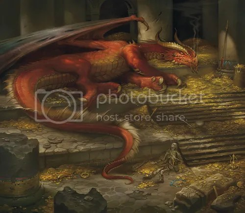 Image result for red dragon treasure hoard