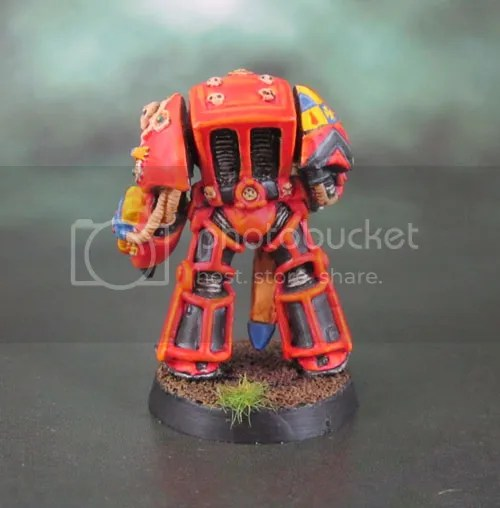 Original Terminator Space Marine Captain - Blood Angels.