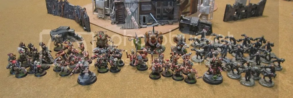 Nurgle Lost and the Damned Army.