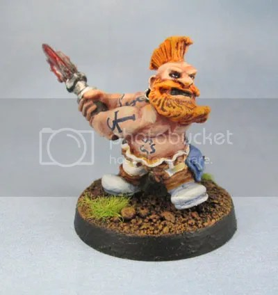 Dwarf Adventurer 09, Troll Slayer, Oldhammer Slayer