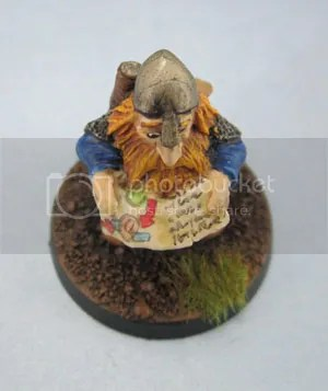 Citadel Dwarf Adventurer, Map Reader