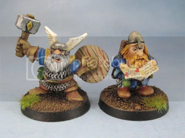 Citadel Advenced HeroQuest Dwarf, Dwarf Adventurer, Map Reader