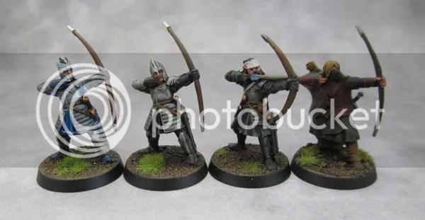 Archers of Gondor, Minas Tirith, Dol Amroth, Blackroot Vale, Osgiliath Veteran, Faramir's Ranger, Grey Company