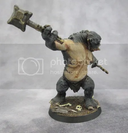 GW Moria Cave Troll with chain and hammer