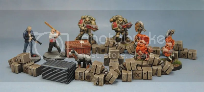 Mantic Mars Attacks Boxes