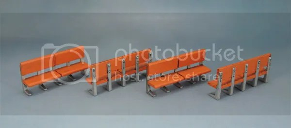 Mantic Mars Attacks Accessory Scenery Benches 28mm Wargaming