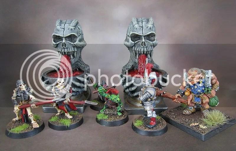 Scotia Grendel Skull Fountains
