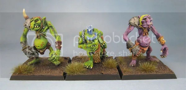 Blood Bowl Trolls, C20 Swamp Troll