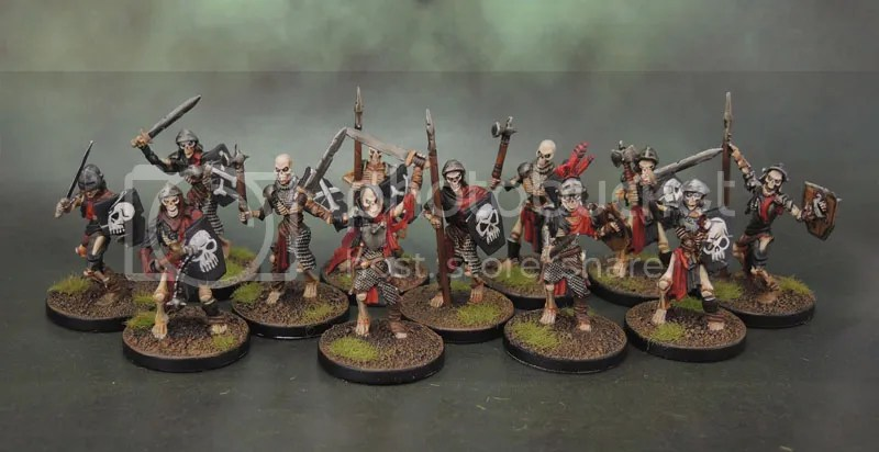 Mantic Games Undead Skeletons