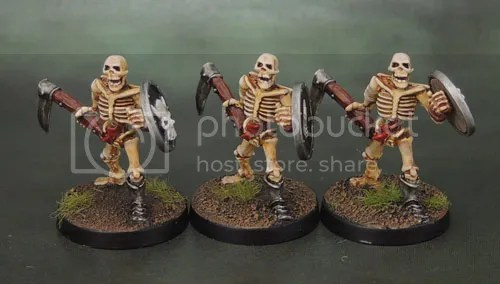 Celtos Fir Bolg Skeleton with Sickles