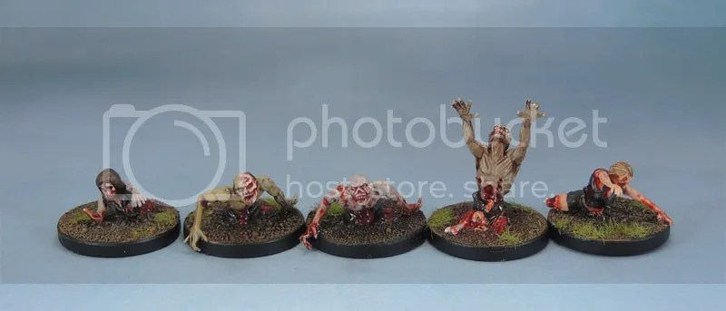 Mantic Games Zombies, WGF Warlord Zombie Vixens