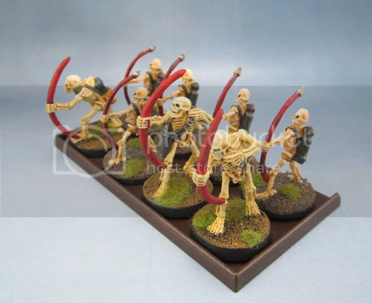 Reaper Bones Skeleton Archers 77018, Harlequin Skeleton Archers
