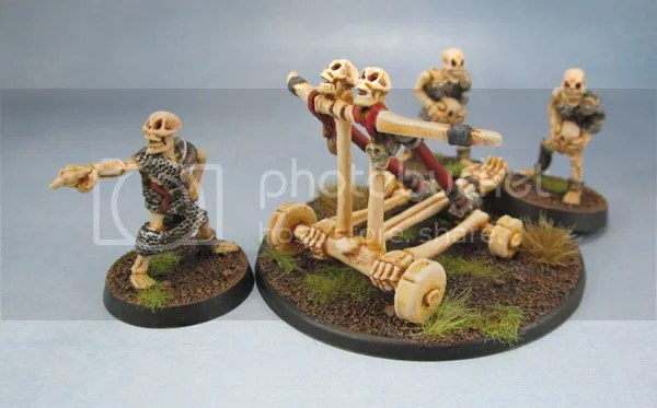MD8 Skull Chucker, Oldhammer Undead, Skeleton War Machines