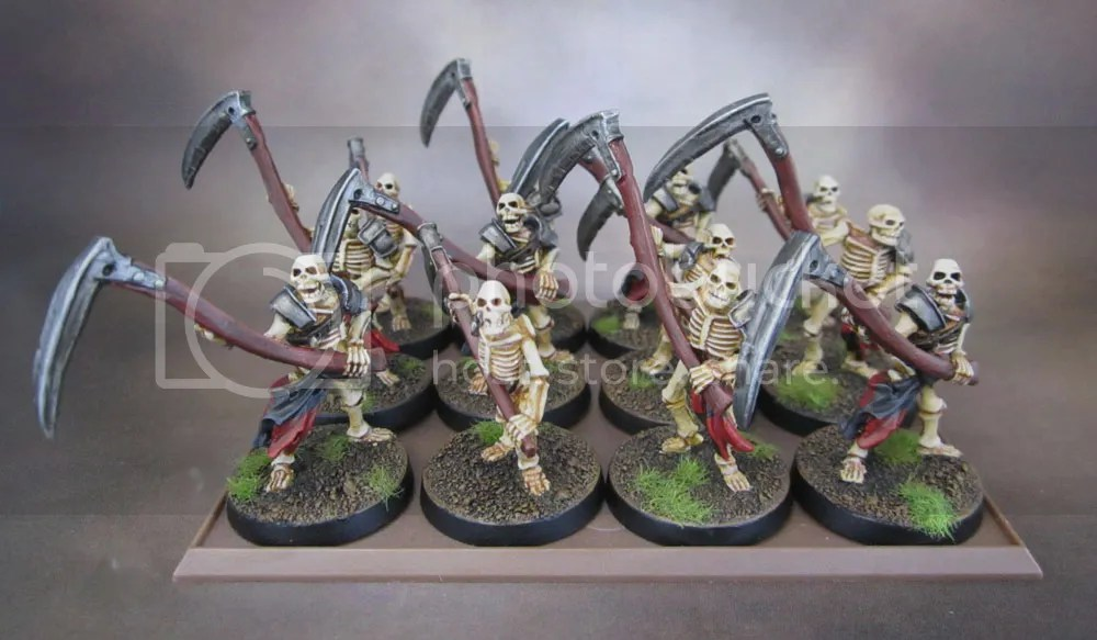 Brigade Games Celtos Fir Bolg Skeletons with Warscythes Scythes