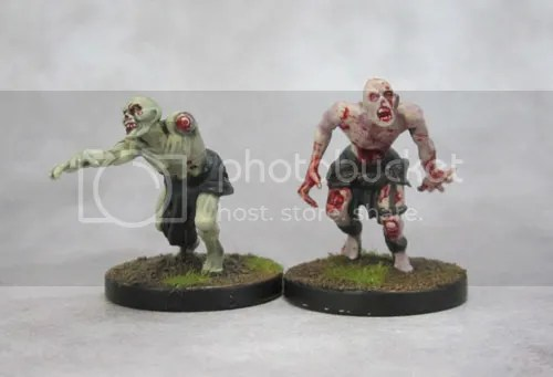Mantic Zombies, Vampire Counts, Zombicide Black Plague, Deadwalkers