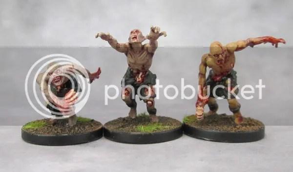 Mantic Zombies, Vampire Counts, Zombicide Black Plague, Deadwalkers