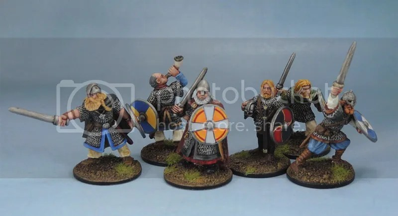Wargames Foundry Vikings, Gripping Beast SV01b Viking Warlord