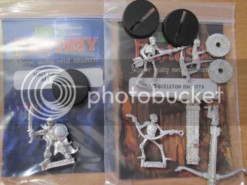 RPE Skeleton Ballista 02.190, Mage Knight Metal Skeleton 541