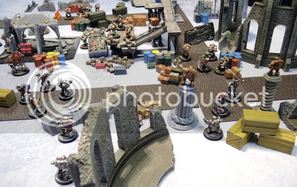 Urbanmatz' 6'x4' Snow Territory Game Mat. Warhammer 40,000, 40k, Kill Team