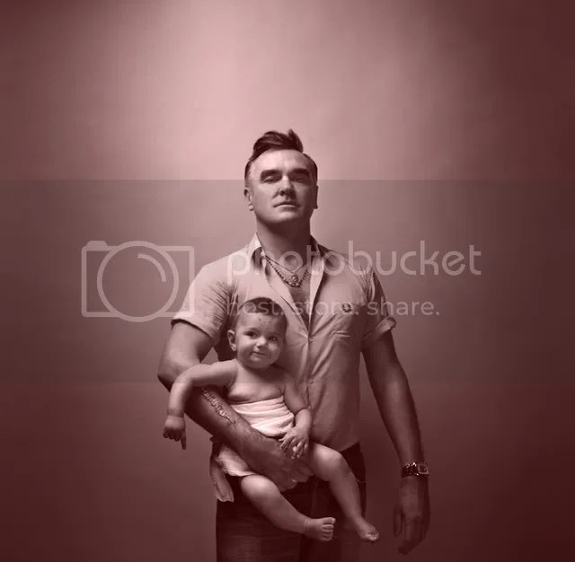 Morrissey and baby