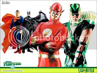Personagens DC, por Alex Ross - CLIQUE PARA FAZER O DOWNLOAD DESTE WALLPAPER