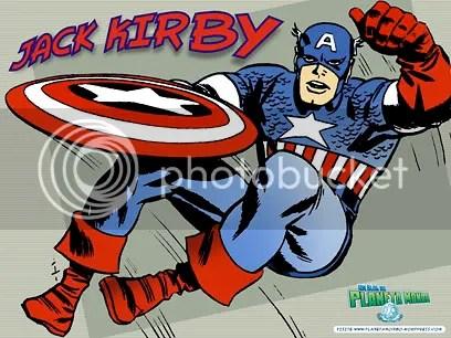 Capitão América, de Jack Kirby