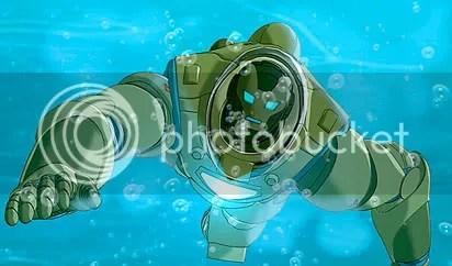 Homem de Ferro até debaixo d'água - CLIQUE PARA AMPLIAR ESTA IMAGEM