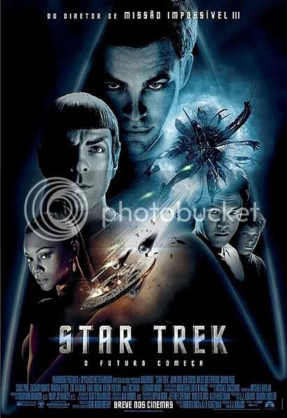 Poster de Star Trek em português - CLIQUE AQUI PARA AMPLIAR ESTE POSTER EM ÓTIMA RESOLUÇÃO