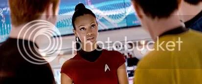 Uhura na Enterprise - CLIQUE AQUI PARA AMPLIAR ESTA FOTO EM ÓTIMA RESOLUÇÃO