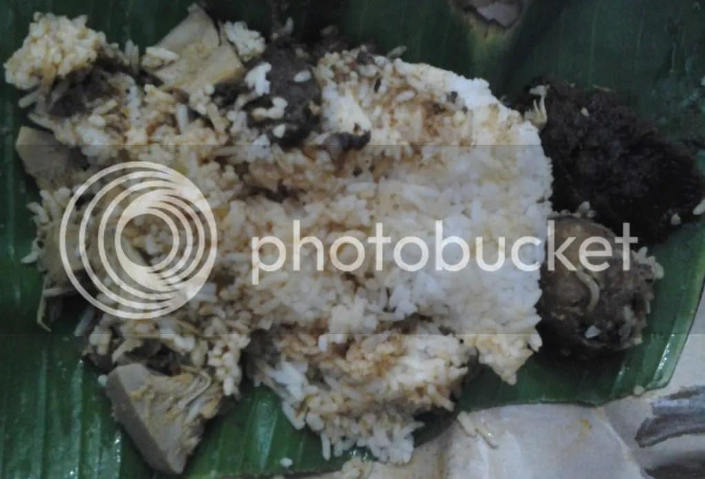 Nasi Padang Saya (Rp 9k)