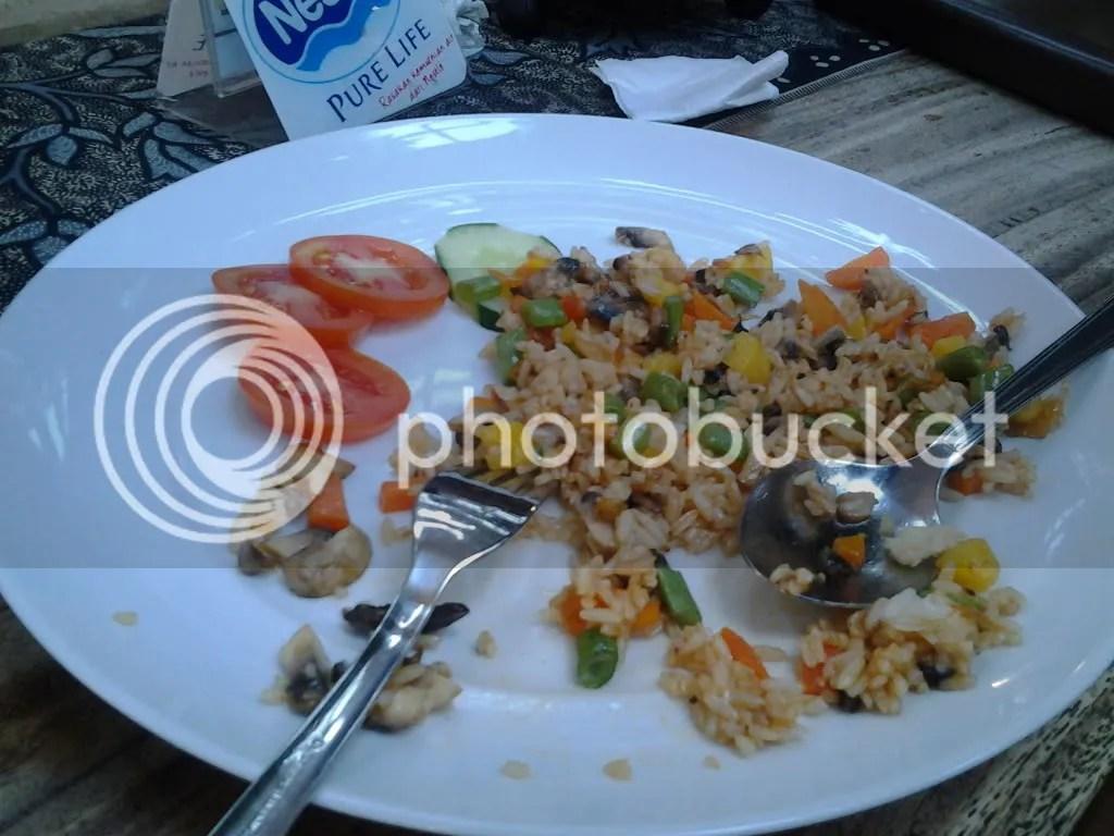 Nasi Goreng Sayuran (Rp 18.500)