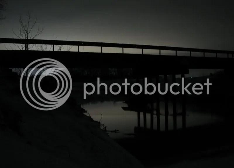 BLACK RIVER AT MIDNIGHT photo: Troll Bridge IMG_1804.jpg