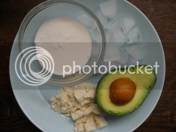 CoconutAvocado Ingredients 5 Sweet and Savory Primal Shakes