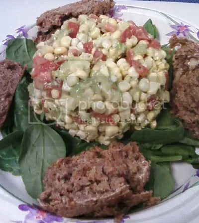 corn salad,raw entrees,mana bread,salads,raw recipes,raw food recipes,raw food diet