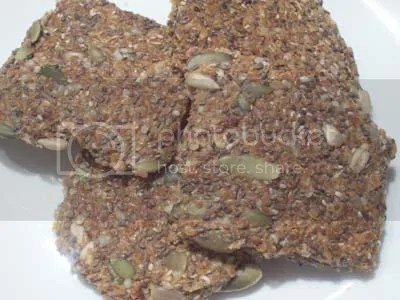 raw recipes,flax bread,flax crackers